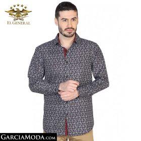 Camisa El General Western Wear 43063-Negro