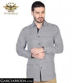 Camisa El General Western Wear 43065-Blanco