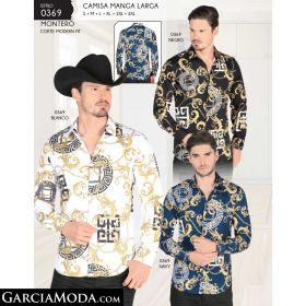 Camisa Montero 0369-Negro-Blanco-Navy