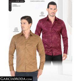 Camisa Lamasini 4338-Camel-4331-Vino