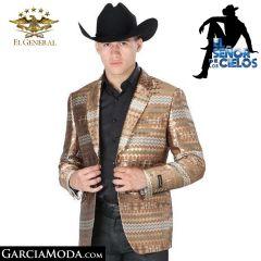 Blazer Señor de los Cielos 041092-Coffee-pattern