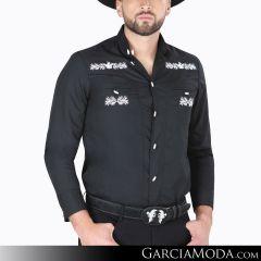 Camisa Charra El Señor De Los Cielos 124525 Negro