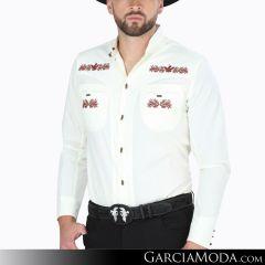 Camisa Charra El Señor De Los Cielos 124527 Beige