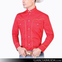 Camisa Charra El Señor De Los Cielos 124864 Rojo
