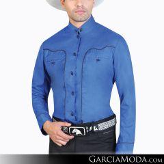 Camisa Charra El Señor De Los Cielos 124866 Azul Rey
