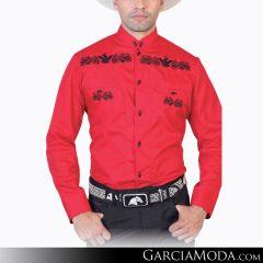 Camisa Charra El Señor De Los Cielos 124867 Rojo