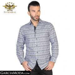 Camisa El General Western Wear 43045-Negro