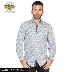 Camisa El General Western Wear Camisa El General Western Wear 43047-Blanco