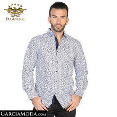 Camisa El General Western Wear 43062-Blanco