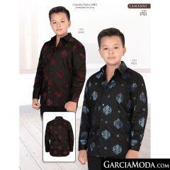 Camisa Lamasini niño 1701-Vino-Azul