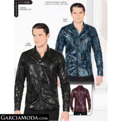 Camisa Lamasini 4348-Negro-Teal
