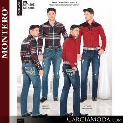 Pantalon Montero Western MT4505 Light Blue, MT4506 Medium Blue
