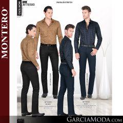 Pantalon Montero Western MT6500 Negro, Navy