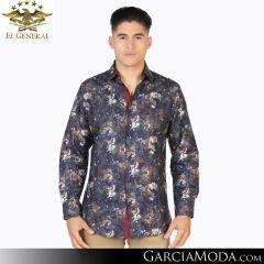 Camisa El General Western Wear 43055-Blanco