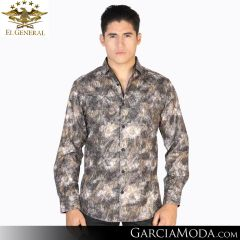 Camisa El General Western Wear 43055-Blanco