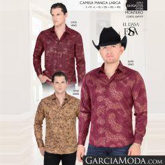 Camisa Vaquera Montero Western 0705 Vino 0690 Vino 0700 Khaki
