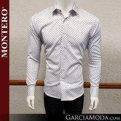 Camisa Vaquera Montero Western Wear 0723 blanca