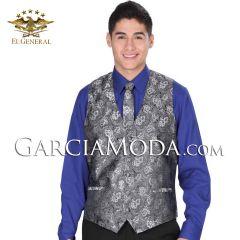 Chaleco Fino El General 34138 Color Silver