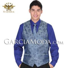 Chaleco Fino El General 34139 Color Blue