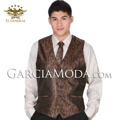 Chaleco Fino El General 34142 Color Brown
