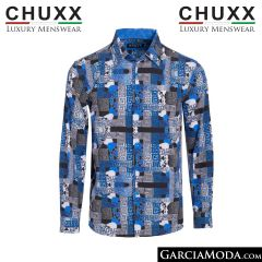 Camisa CX VL-388 Blue