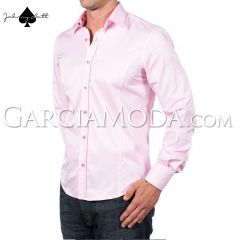 Johnny Matt Luxury shirts JM-1213 Pink with design inner details