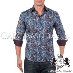 Camisa Michael & David Luxury Menswear MD-735-Multi