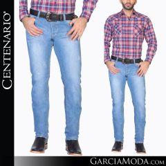 Pantalon Vaquero Centenario Western Wear 34517 azul