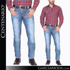 Pantalon Vaquero Centenario Western Wear 34524 azul