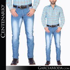 Pantalon Vaquero Centenario Western Wear 34526 azul