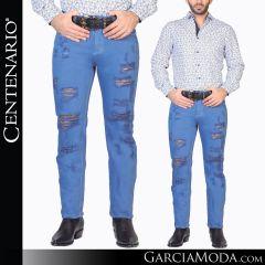 Pantalon Vaquero Centenario Western Wear 34724 blue