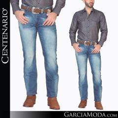 Pantalon Vaquero Centenario Western Wear 40629 azul