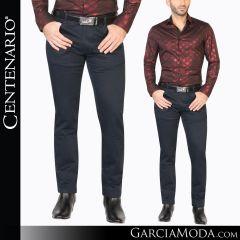 Pantalon Vaquero Centenario Western Wear 41154 navy
