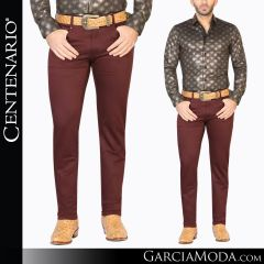 Pantalon Vaquero Centenario Western Wear 41162 rojo