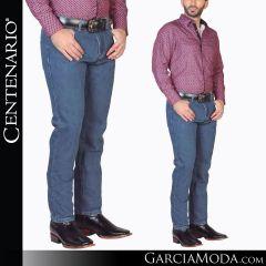Pantalon Vaquero Centenario Western Wear 41331 azul claro