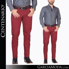 Pantalon Vaquero Centenario Western Wear 41333 vino