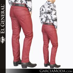 Pantalon Vaquero El General Western Wear 34955 wine