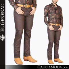 Pantalon Vaquero El General Western Wear 34959 brown