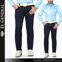 Pantalon Vaquero El General Western Wear 41160 navy