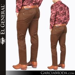 Pantalon Vaquero El General Western Wear 41165 cafe