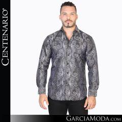 Camisa Vaquera Centenario Western Wear 42816 gris