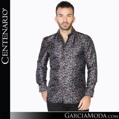 Camisa Vaquera Centenario Western Wear 42835 negro