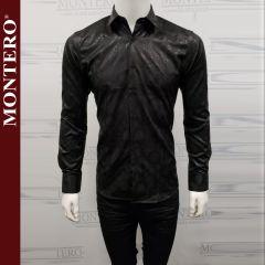 Camisa Vaquera Montero Western 0724 Negro