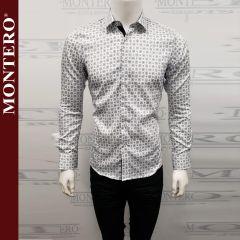 Camisa Vaquera Montero Western 0729 Blanca