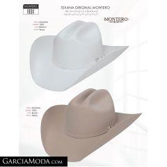 Texana Montero Western 100x Buskin,Blanco Horma Texas
