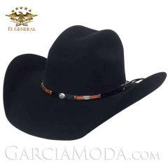 Texana 23075  El General Western 50X  LANA NEGRO TORO